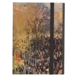 Boulevard des Capucines by Claude Monet, Fine Art Case For iPad Air