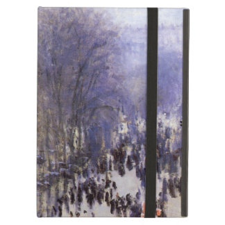Boulevard des Capucines by Claude Monet, Fine Art Cover For iPad Air