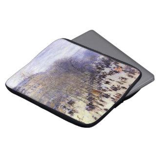 Boulevard des Capucines by Claude Monet, Fine Art Laptop Sleeve