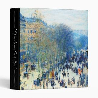 Boulevard des Capucines Claude Monet fine art Binders