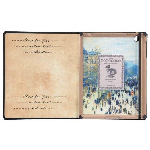 Boulevard des Capucines Claude Monet fine art iPad Cover