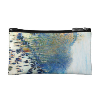 Boulevard des Capucines Claude Monet fine art Cosmetic Bags