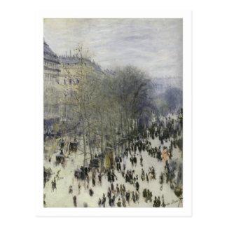 Boulevard des Capucines postcard