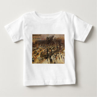Boulevard des Italiens Afternoon by Camille Pissar Baby T-Shirt