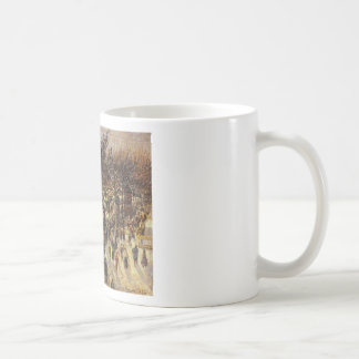Boulevard des Italiens Afternoon by Camille Pissar Classic White Coffee Mug