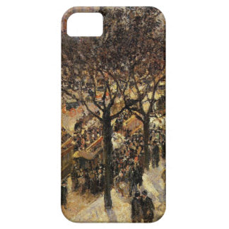 Boulevard des Italiens Afternoon by Camille Pissar iPhone SE/5/5s Case