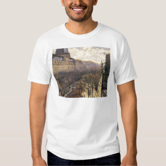 Boulevard des Italiens by Gustave Caillebotte T-Shirt