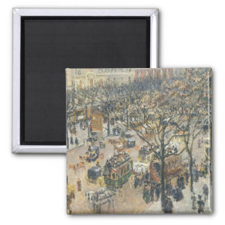 Boulevard des Italiens, Morning, Sunlight, 1897 Magnet