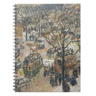 Boulevard des Italiens, Morning, Sunlight, 1897 Notebook