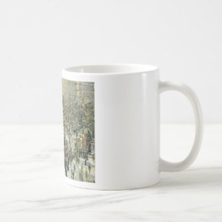Boulevard des Italiens Morning, Sunlight Classic White Coffee Mug
