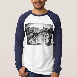 Boulevard du Temple, by Daguerre, historic photo T-Shirt