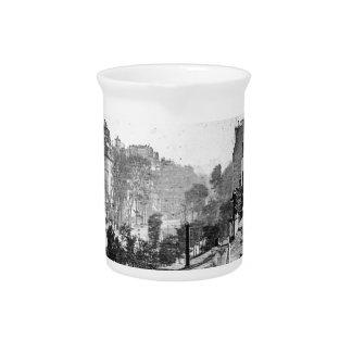 Boulevard Du Temple Drink Pitcher