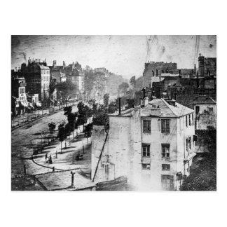 Boulevard Du Temple Postcard