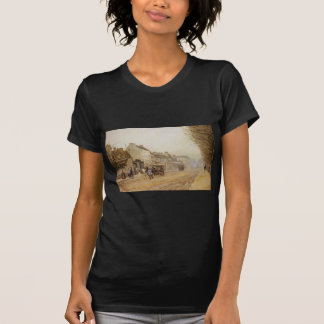 Boulevard Heloise, Argenteuil by Alfred Sisley T Shirts