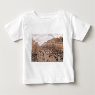 Boulevard Monmartre in Paris by Camille Pissarro Tshirt