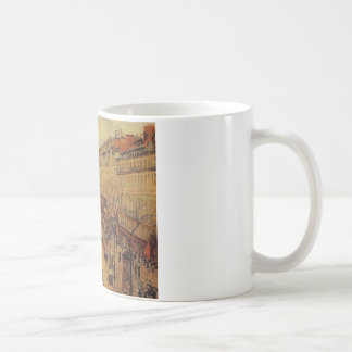 Boulevard Montmartre Afternoon, in the Rain Coffee Mug