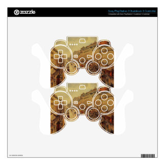 Boulevard Montmartre Afternoon, in the Rain PS3 Controller Skin