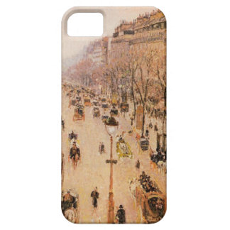 Boulevard Montmartre Morning, Grey Weather iPhone SE/5/5s Case
