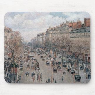 Boulevard Montmartre - Paris - Camille Pissarro Mouse Pad