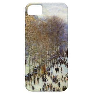 Boulevard of Capucines by Claude Monet iPhone SE/5/5s Case
