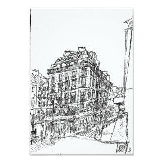 Boulevard Paris structures Bohemia street exists i Card