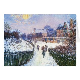 Boulevard Saint Denis Argenteuil by Claude Monet Cards