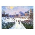 Boulevard Saint Denis Argenteuil by Claude Monet Invite