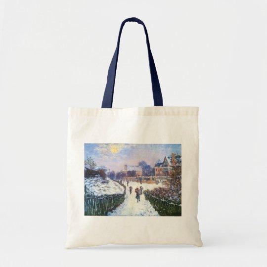 Boulevard Saint Denis Argenteuil by Claude Monet Tote Bag