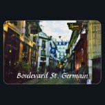 "Boulevard St. Germain Magnet<br><div class=""desc"">Boulevard St. Germain on the artistically famous Parisian Left Bank.</div>"