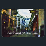 "Boulevard St. Germain Magnet<br><div class=""desc"">Boulevard St. Germain on the artistically famous Parisian Left Bank.</div>"
