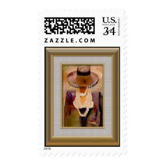 boulier postage stamp