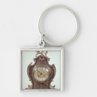 Boulle bracket clock by A.Brocot Delettrez Keychain