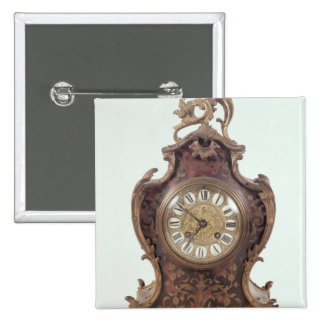 Boulle bracket clock by A.Brocot Delettrez Pinback Button