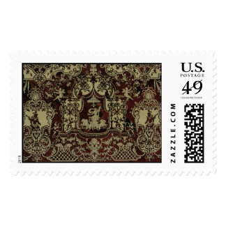 boulle marquetry detail postage
