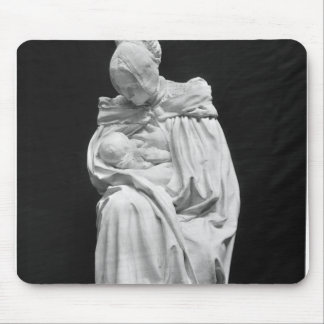 Boulonnaise Woman Feeding her Child Mouse Pad