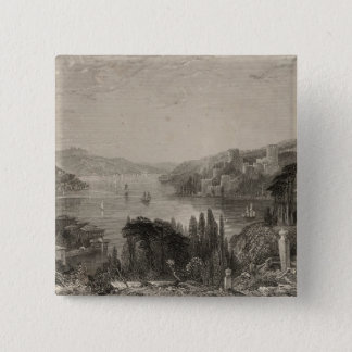 Boumeli Hissar, or the Castle of Europe Pinback Button