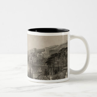 Boumeli Hissar, or the Castle of Europe Two-Tone Coffee Mug