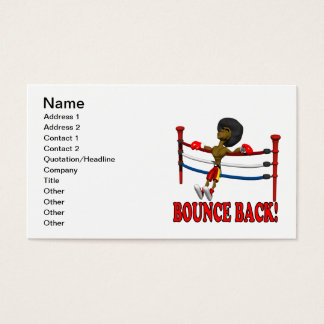 Bounce Back Business Card
