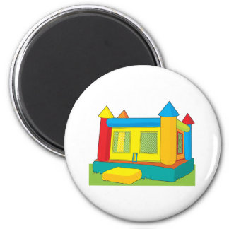 Bounce Castle 2 Inch Round Magnet