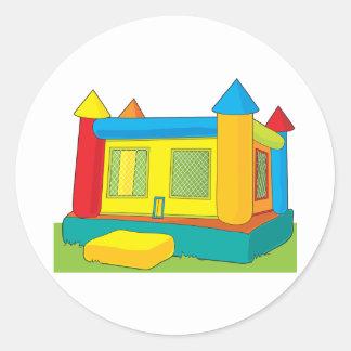 Bounce Castle Classic Round Sticker
