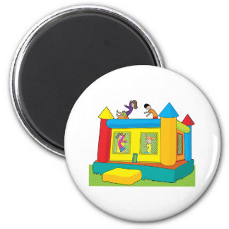 Bounce Castle Kids 2 Inch Round Magnet