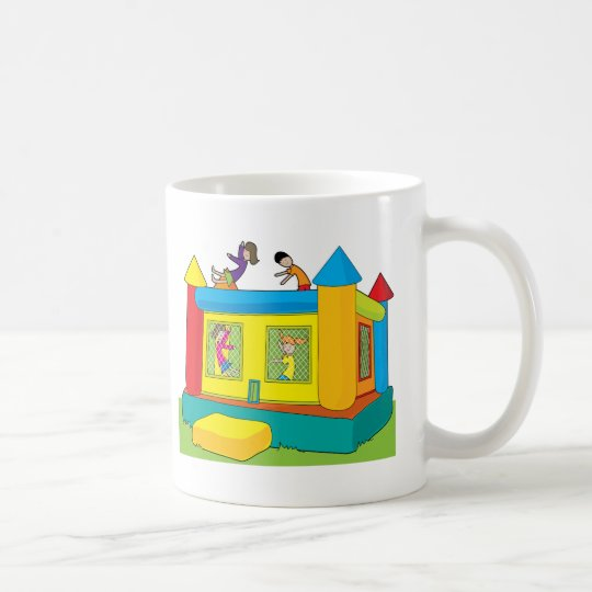 Bounce Castle Kids Coffee Mug