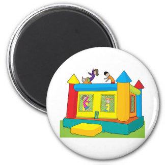 Bounce Castle Kids Magnet