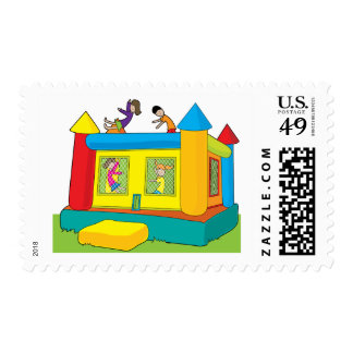 Bounce Castle Kids Stamp