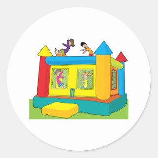 Bounce Castle Kids Classic Round Sticker