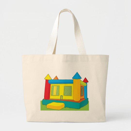 Bounce Castle Large Tote Bag