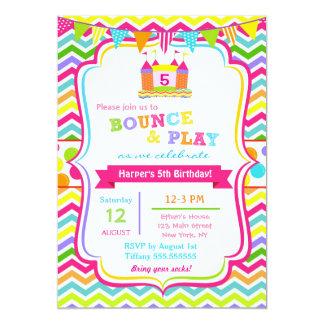 Bounce House Birthday Invitations Announcements Zazzle