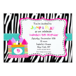Bounce House Castle Birthday Invitations