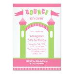 "Bounce House Party Invitations 5"" X 7"" Invitation Card"
