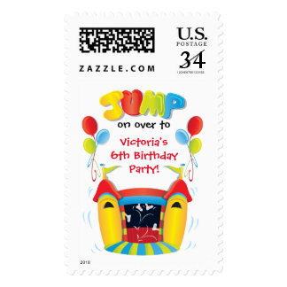 Bounce House Postage stamp